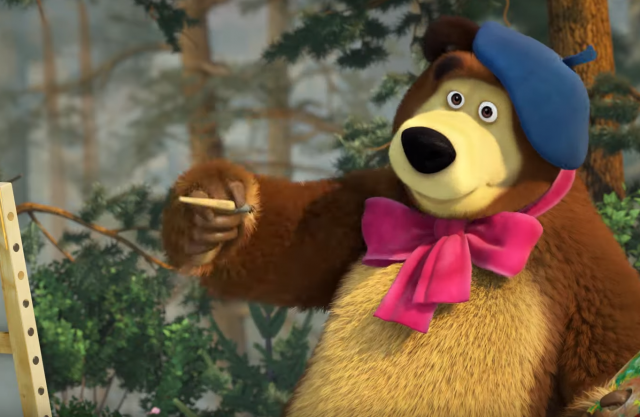 Masha And The Bear - ????‍????‍????‍???? PARENTS' DAY! ????‍????‍????‍????